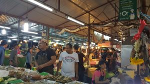 Vendors at Phuket Sunday Night Market Thailand