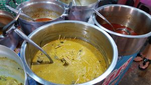 Thai Yellow Curry Phuket Sunday Night Market Thailand