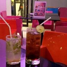 Drinks at the Ibis Styles Chiang Mai Thailand