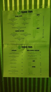Trench Town Menu Seoul Food Review Trench Town Caribbean BBQ Restaurant in Itaewon Seoul Korea by: Toronto Seoulcialite