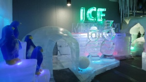 Ice Museum Trick Eye Museum Seoul Korea Winter Exhibit Zombie House