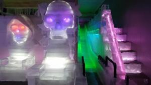 Ice Museum Trick Eye Museum Seoul Korea Winter Exhibit Zombie House